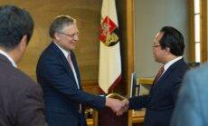 VU rektorius A. Žukauskas priėmė Kinijos Šendženo miesto delegaciją