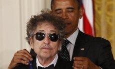 Barackas Obama ir Bobas Dylanas