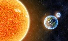 Žemė ir Saulė