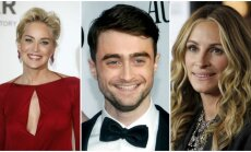 Sharon Stone, Danielis Radcliffe'as, Julia Roberts
