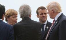 Ar Didžiojo septyneto lyderiams pavyks susitarti su D. Trumpu?