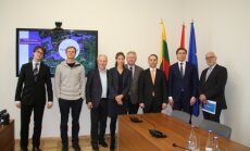 Hyperloop One delegation in Lithuania