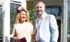 Beata Nicholson su vyru Tomu