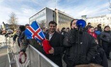 Protestai Islandijoje