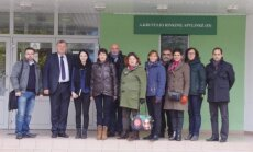 Rezé Louis-Jacques Goussier licėjaus (Prancūzija) komandos priėmimas Vilniaus technologijų ir verslo profesinio mokymo centre (VTVPMC)