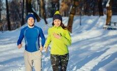 Treniruotės šaltyje – suskubkite pasinaudoti žiemos malonumais