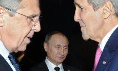 Sergejus Lavrovas, Vladimiras Putinas, Johnas Kerry