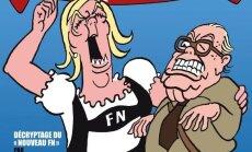 Charlie Hebdo viršeliai