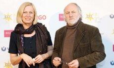Į renginį atvyko režisierių pora Janina Lapinskaitė ir Algimantas Puipa