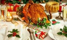 Prabangus Kalėdų stalas