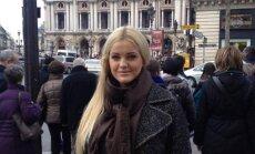 Neringa Šiaudikytė lankėsi Paryžiuje