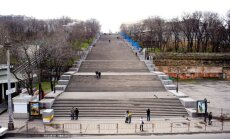 Odessa's famous Potemkin Stairs
