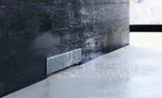 Išpuoselėta ir elegantiška: sieniniai dušo latakai