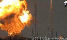 Falcon 9 sprogimas