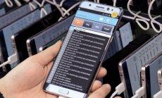 Samsung Galaxy Note 7 tyrimas