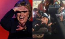 Hillary Clinton, Danas Bilzerianas su merginomis
