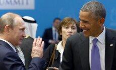 V. Putinas ir B. Obama