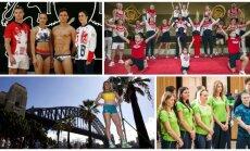 Įvairių pasaulio šalių olimpiečiai (AP Scanpix, Reuters-Scanpix, DELFI nuotr.)