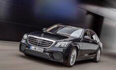 Modernizuotas S klasės Mercedes-Benz