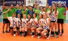 Lietuvos jaunių žaidynių dalyviai - tinklininkai