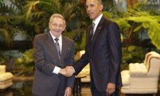 B. Obama susitiko su Kubos vadovu R. Castro
