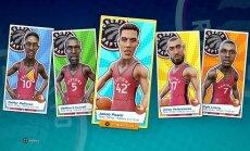 NBA Playgrounds Jono Valančiūno kortelė