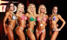 Viduryje - Miss Shape kategorijos nugalėtoja Rūta Karkauskaitė