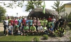 """Mažeikių bėgimo klubo """"Penki kalnai"""" nariai – vieni pagrindinių renginio iniciatorių."""