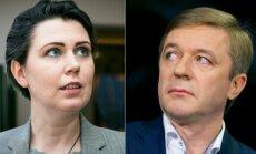 Dovilė Šakalienė ir Ramūnas Karbauskis