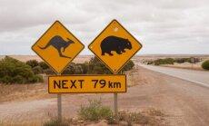 Australija, kelias