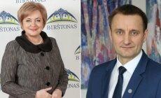 N. Dirginčienė ir A. Visockas