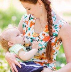 4 mitai apie po gimdymo suglebusią krūtinę