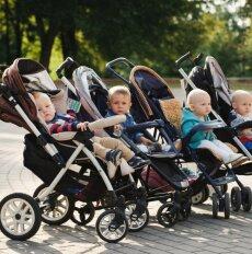 Renkamės vaiko vežimėlį: kokie patys populiariausi Lietuvoje