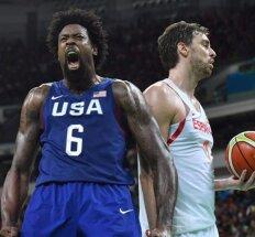 Ispanai sensacijos nepateikė: Rio žaidynių finale – JAV rinktinė