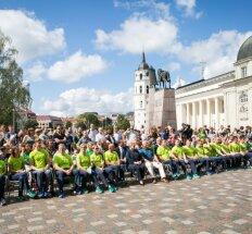 Į Rio de Žaneirą išlydėti Lietuvos parolimpiečiai