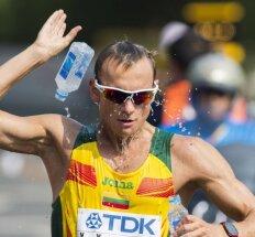 Ėjikas T. Šuškevičius olimpinėse žaidynėse – arti 30-uko