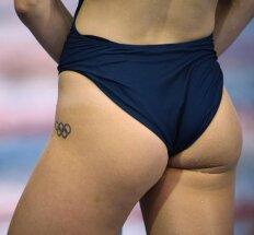 Olimpiečių kūnus puošia įvairios tatuiruotės