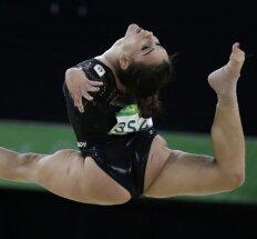 Gimnastė Erika Fasana