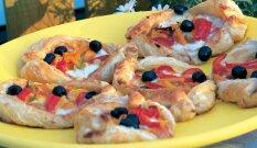 Greiti daržovių pyragėliai