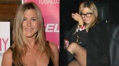 47-erių J. Aniston atidengė paparacams kur kas daugiau nei dailias kojas FOTO