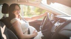 10 patarimų nėščioms vairuotojoms