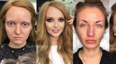 Jas padažė profesionalė - sunku patikėti, kad tai tos pačios moterys!