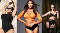 """Savimi patenkintos ir seksualios: """"plius"""" dydžio modeliai, kurie žavi visą pasaulį FOTO"""