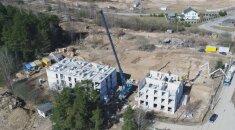 Statybos Lazdynėliuose