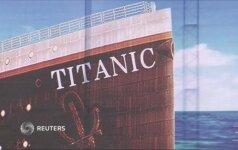 """Kinijos pramogų parke pradėta statyti """"Titaniko"""" kopija"""