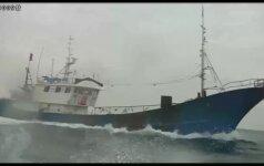 Po susidūrimo su Pietų Korėjos pakrantės apsauga žuvo trys kinų žvejai