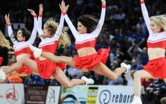 LKL finalo kuriozai: šokėjos mesta juosta ilgam sustabdė rungtynes