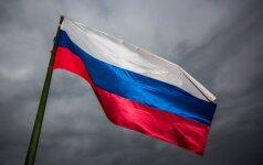 Rusija žada vetuoti JT rezoliuciją dėl sankcijų cheminį ginklą naudoti leidžiančiai Sirijos valdžiai