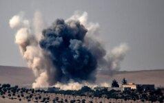 Per susidūrimą su Sirijos kurdais Turkija neteko vieno kario