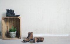 Darau pats: sumanios batų lentynos idėjos